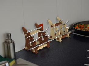 flatware-stand katana-style