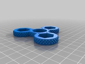 (3D Slash) knurled_spinner_nut_v2