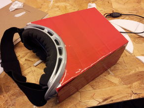 DIY $42 FPV Goggles for RC Quadcopters or Planes