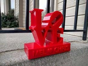 Love Sculpture (with pedestal)