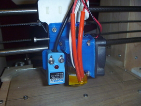 J Head Bowden mount with fan and prox