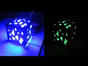 Minecraft - Glowing Cube