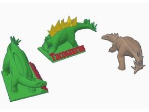 Tacosaurus - Stegosaurus