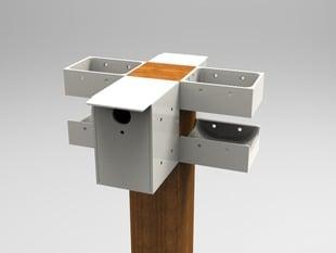 Modular Birdhouse
