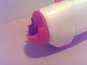 X-UAV Talon Short Nosecone with servo cutout for pan & tilt