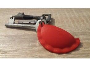 Pierogi keychain