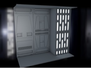 Star Wars complete Death Star Diorama