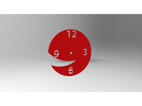 Wall Clock Smiling Watch