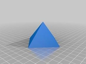 4 Sided Pyramid