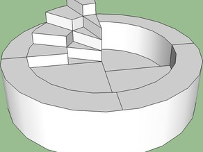 Circular stairs!