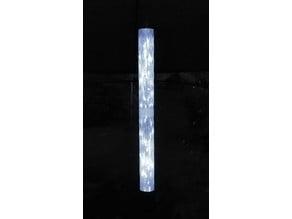 luminous crystal tube
