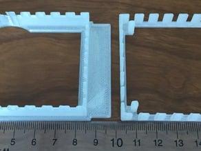 Parametric microfluidics device holder