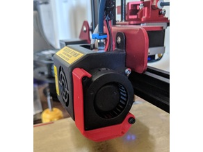 Fan Duct With Clip for CR-10s Pro