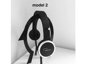 Headphone head shape stand