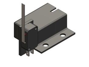 Mailbox Illumination Battery and Switch Mount