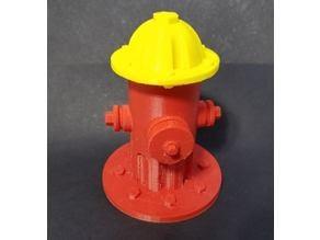 Fire Hydrant storage cap (remix)