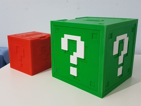 Mario Question Block Coin Bank XL
