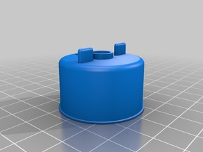Ultimaker 2 front knob and housing