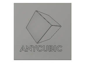 Anycubic Logo (2D and 3D)