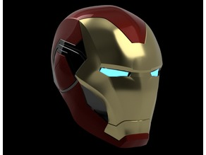 Iron Man Mark 85 Helmet Endgame V2