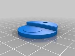 bed support with FSR pods for 3DR delta printer