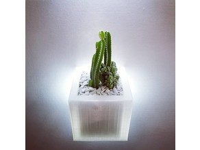 Light Up Wall Planter