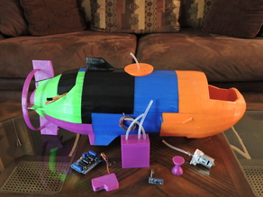 The Catfish - A fully working submarine