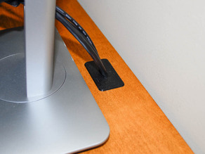 Monitor Wire Grommet Cover
