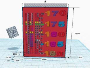 Binary Tower of heat