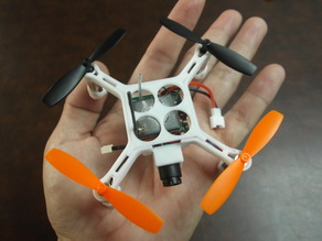 XL-RCM 10.0 PIXXY: Pocket drone / FPV quad