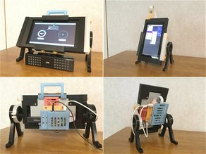 """Raspberry Pi official 7"""" LCD frame and stand 2"""