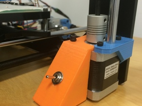 switch box - porta pulsante Prusa i3 Hephestos