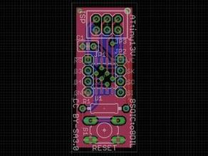 ATtiny13V 8SOIC to 8DIL breakout