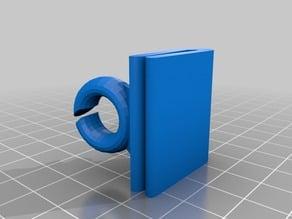 Makerbot Replicator + filament guide