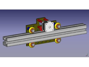 4040 Extrusion profile Rail system