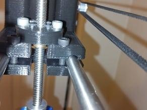 Brass Leadscrew Nut Adapter