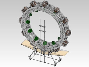 Rotary Hydroponic Unit
