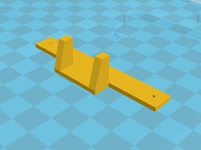 FPV mini cam mount for Openpilot V-Tail by Tepaja