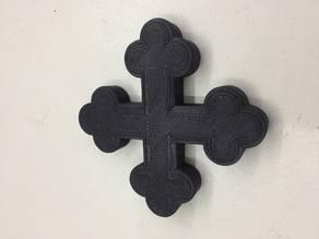 Orthodox Coptic Cross - Croix Copte orthodoxe