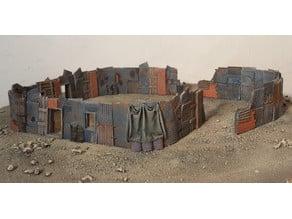Shanty barricades