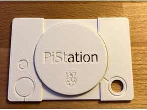 PiStation Raspberry Logo Lid