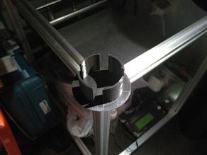 2020 rail screwless filament spool holder