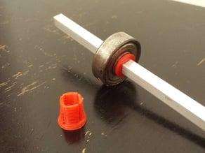 Skate bearing bushing for 5mm square bar