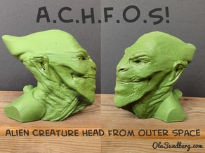 ACHFOS - Alien Creature Head From Outer Space