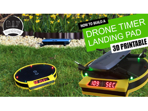 Drone Landing Pad with Arduino Timing System