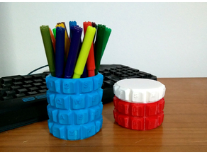 Customizable Keyboard Penholder/Box