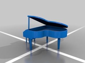 Dioramas elements (Grand Piano)