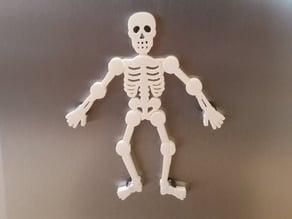 Skeletonz Poseable Fridge Magnet