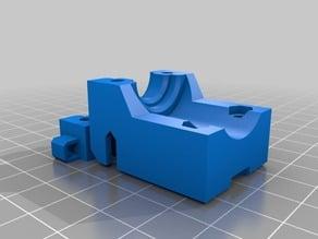 Zero Offset E3D holder for Maker Select Mini