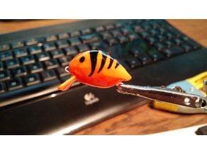 Mini Trout/Perch Lure Low Poly